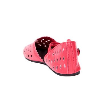 Ten Synthetic Leather 113 Women's Sandals - Red