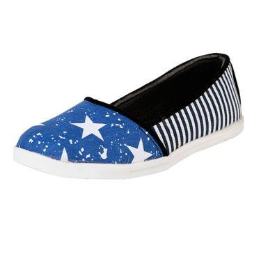 Ten Denim Blue Womens Sneekers -ts275