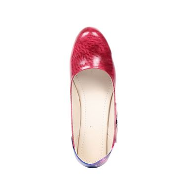 Ten Patent Leather Red Wedges -ts79