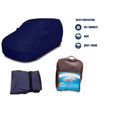 Ford EcoSport Car Body Cover  imported Febric with Buckle Belt and Carry Bag-TGS-G-WPRF-28