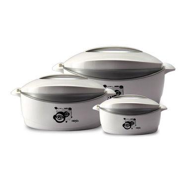 Milton Casserole Trumph Gift Set-Silver Grey