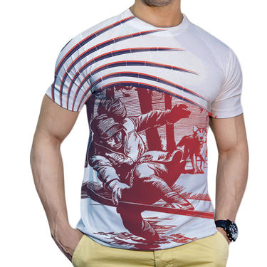 Effit Printed Casual Tshirts_Trw0620 - White