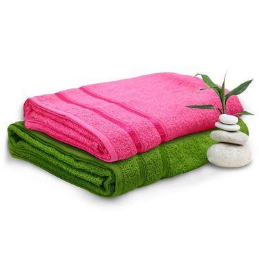 Set of 2 Storyathome Cotton Bath Towel-TW_1203-L_1202-X