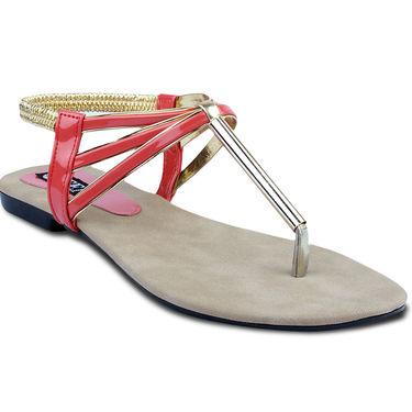 Ten Patent Leather Womes Sandals For Women_tenbl143 - Orange