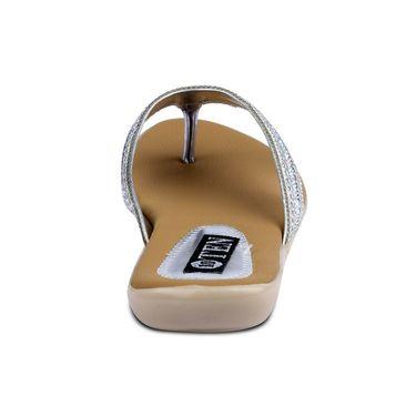 Ten Synthetic Sandals For Women_tenbl173 - Silver
