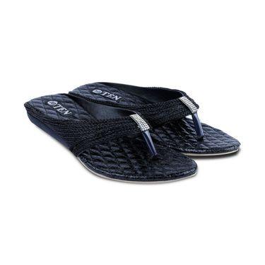 Ten Synthetic Sandals For Women_tenbl174 - Black