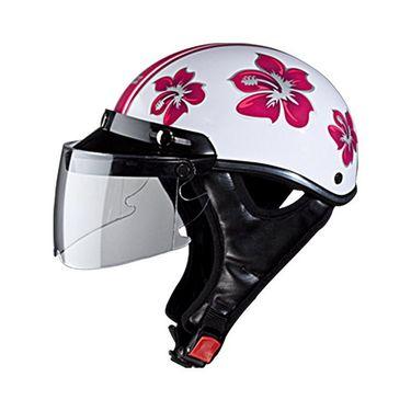 Studds - Ladies Helmet Open Face - Troy (Happy N8) [Large - 58 cms]