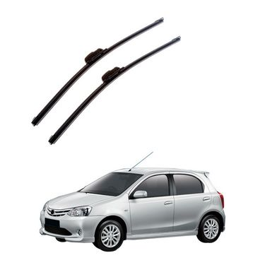 Autofurnish Frameless Wiper Blades for Toyota Liva (D)22