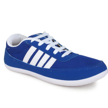 Do Bhai Synthetic Leather Sports Shoes USR-1-Blue