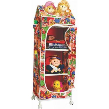 Kids Unique 4 Shelves Almirah