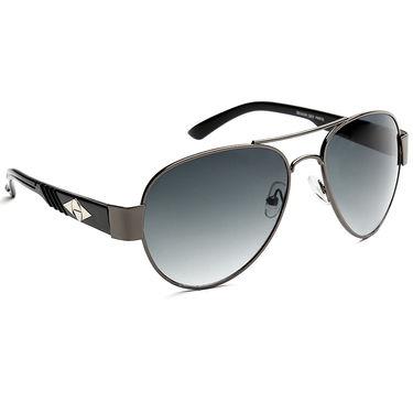 Alee Metal Oval Unisex Sunglasses_167 - Blue