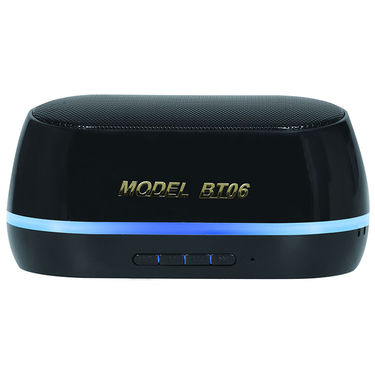 Adcom Mini-BT06 Wireless Mobile/Tablet Speaker - Black