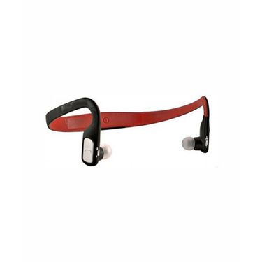 Vibrandz BQ-602P Wireless Bluetooth Headset - Red