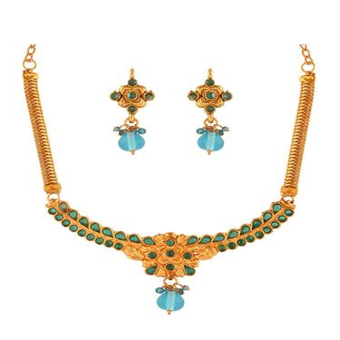 Combo of 7 Variation Necklace Sets + 1 Chain Pendant Set_Vd16413