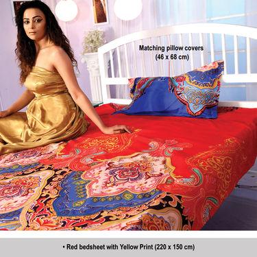 20 Pcs Vibrant Bedsheet Set by Luxury Queen