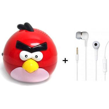 Vizio Angry Bird MP3 Player with Earphone