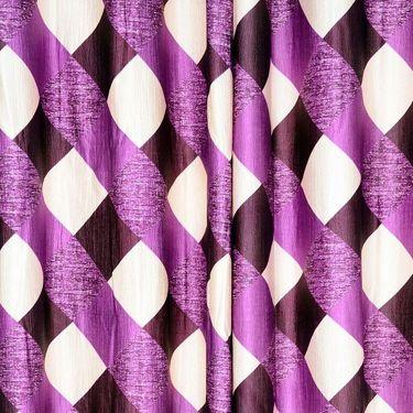 Set of 8 Printed  Window curtain-5 feet-WNR_4_3014