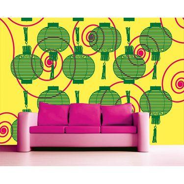 meSleep Chinese Lantern Water Active Wall Paper 40 x 120 Inches-WPWA-03-10