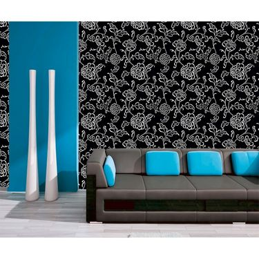 meSleep Floral Water Active Wall Paper 40 x 120 Inches-WPWA-03-38