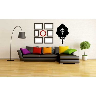 Black Decorative Wall Sticker-WS-08-007