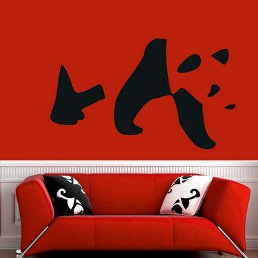 Funny Face Decorative Wall Sticker-WS-08-053