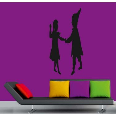 Baby Couple Decorative Wall Sticker-WS-08-072