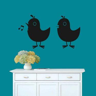 Beautifull Bird Decorative Wall Sticker-WS-08-076