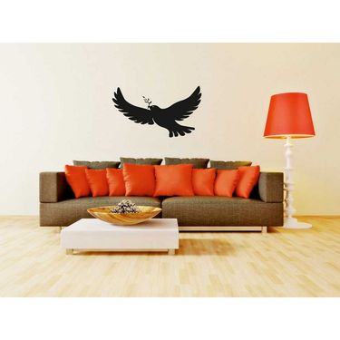 Black Bird Decorative Wall Sticker-WS-08-088