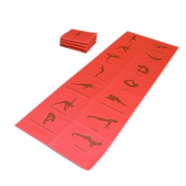 Welcare Foldable PVC Yoga Mat - 0.6Cm