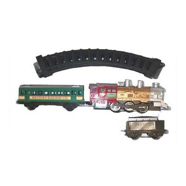Battery Operated Toy Train Set with Light, sound and smoke