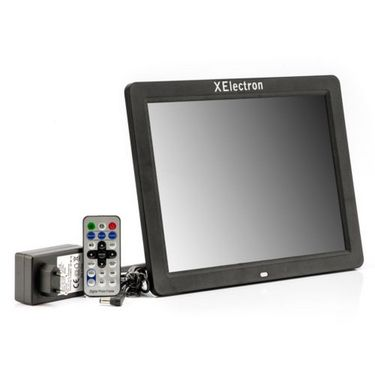 XElectron 1200XE 12 inch Digital Photo Frame with Remote - White