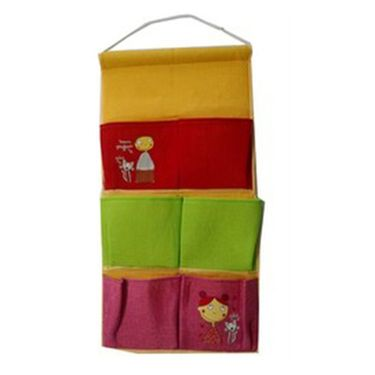 Combo of Valtellina Double Bedsheet + 2 Pillow Cover + 1 Bath Towel & 1 Hanging Bag_Ytd076