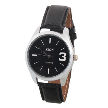 Combo of Zion Fashion 1 Wrist Watch + 1 Gents Wallet + 1 Belt_ZW 422