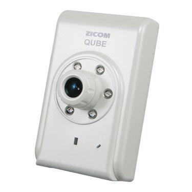Zicom IP Qube Camera - White