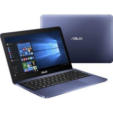 Asus X205TA-FD0077TS 90NL0734-M07750 Intel Atom Quad Core - (2 GB DDR3/32 GB EMMC HDD/Windows 10) Netbook(11.6 inch, Dark Blue)