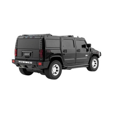 Full Function Rechargeable RC Hummer H2 SUV Toy - Black
