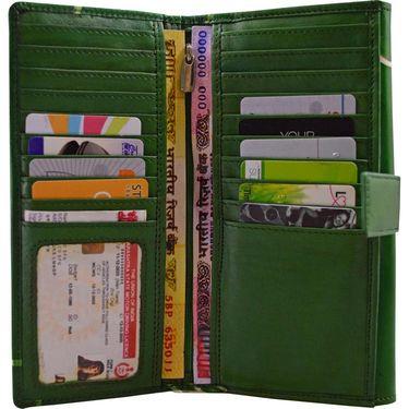 Arpera Green Ladies Wallet Ssa01