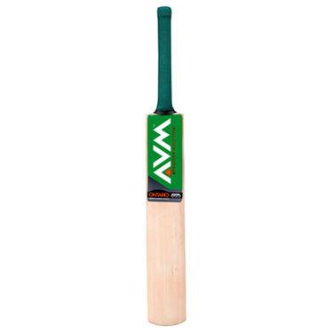 AVM Ontario Kashmir Willow Cricket Bat (Short Handle, 1025 g)