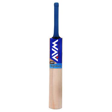 AVM Signature Kashmir Willow Cricket Bat (Short Handle, 1028 g)