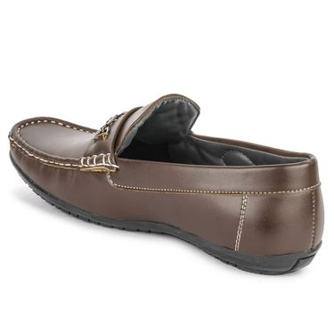 Foot n Style Brown Loafers -Fs3061
