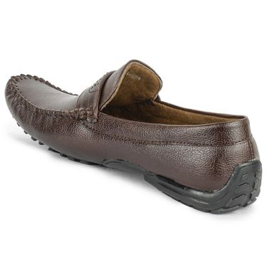 Foot n Style Brown Loafers -Fs3079