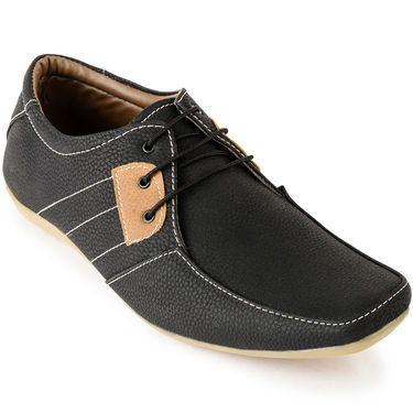 Foot n Style Suede Leather Beige Casual Shoes -fs3119