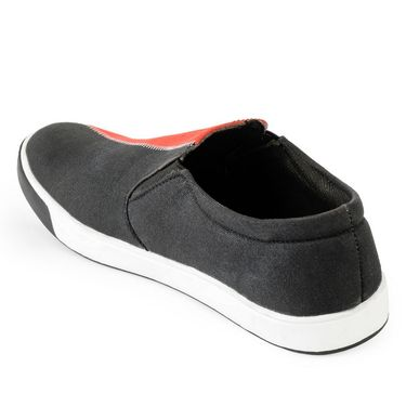 Foot n Style Canvas Navy & Black Casual Shoes -fs3128