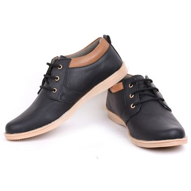 Foot n Style Black Casual Shoes -Fs3149