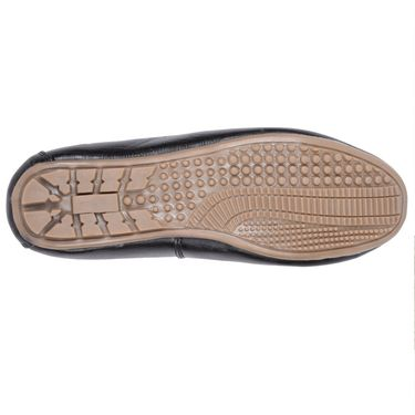 Foot n Style Black Loafers Shoes -Fs3153