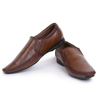 Foot n Style Brown Formal Shoes -Fs3178