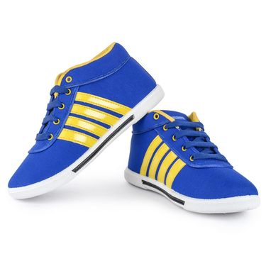 Foot n Style Canvas Casual Shoes FS 393 -Blue