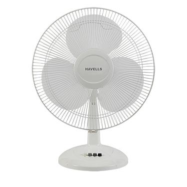 Havells Swing LX 400 mm Table Fan - White