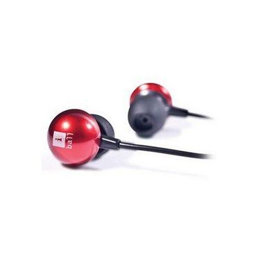 iBall Pearl Earphones - Red