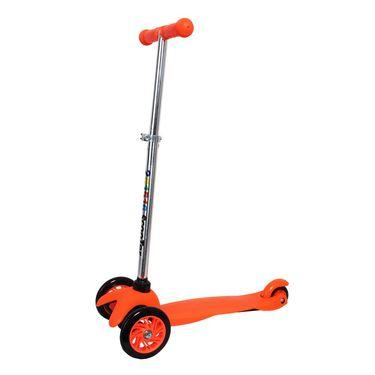 Kids 3-Wheel Twist Scooter - Orange